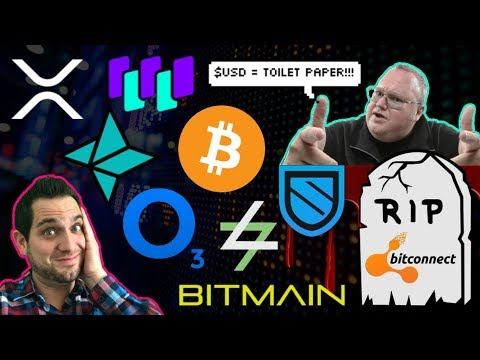 R.I.P. Bitconnect 💀 $USD = Toilet Paper? Turkish Lira 📉 ICOs Are STILL Profitable? $WTC  $NAS
