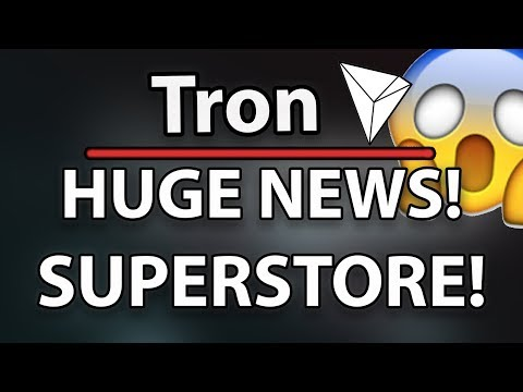 MUST WATCH! Tron (TRX) Accepted In Bitcoin Superstore!