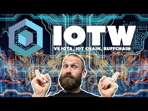 IOTW vs IOTA vs IoT Chain vs RuffChain