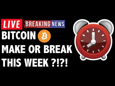 This Week Will Make or Break Bitcoin (BTC)?! – Crypto Trading & Cryptocurrency News