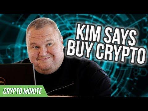 KIM DOTCOM SAYS BUY CRYPTO! – FIAT WILL CRASH – CryptoCurrency News
