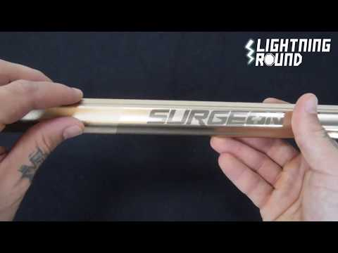 Lightning Round for the STX Surgeon Sc-Ti Attack Lacrosse Shaft