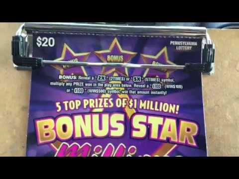 New tix:Bonus Star Millions