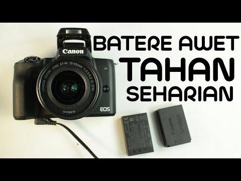 BATERE KAMERA CEPET HABIS ?  INI SOLUSINYA ~ Canon EOS M50 Unlimited Battery Power