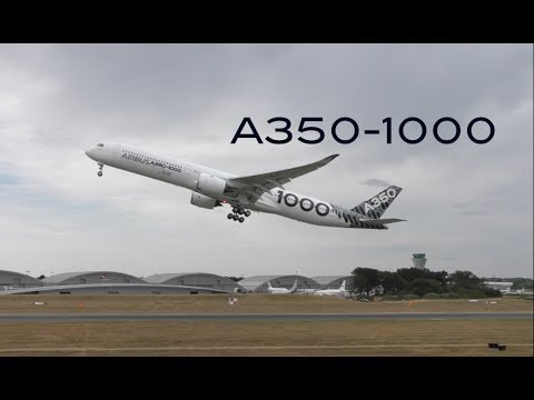 Steep Takeoff Airbus A350-1000 while A330 NEO is landing from behind