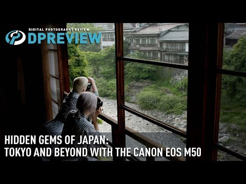 Canon EOS M50 in Japan