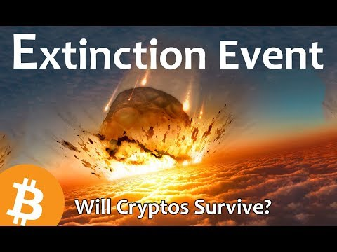 Extinction Event – Will Cryptos Survive?  [Daily Bitcoin and Cryptocurrency News 8/14/2018]