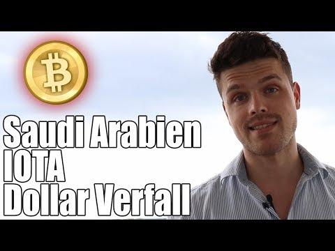 Verbot von Bitcoin in Saudi-Arabien! Interne Streitigkeiten bei IOTA und der Verfall vom US-Dollar