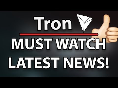 Tron (TRX) Latest News! TRX VS NEO! & Tron Gave Away an Iphone X!