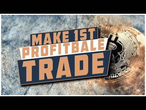 Make Your First Profitable Trade Today With Cryptocurrency