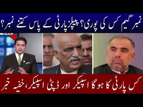 Seclection of Speaker And Numbers Game of Parties | Neo News