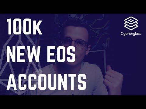 100k New EOS Accounts