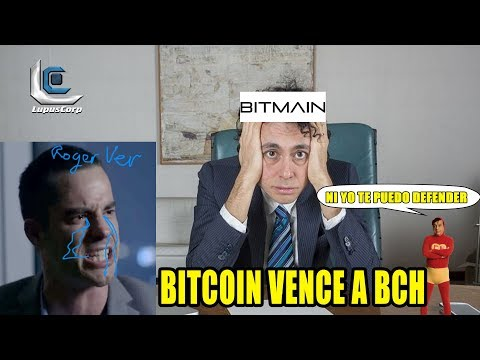 Bitcoin VENCE a Bitcoin CASH a causa de bitmain