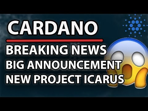 Cardano (ADA) Big Announcement! (Project Icarus)