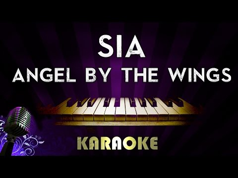 Sia – Angel By The Wings | Piano Karaoke Instrumental Lyrics Cover Sing Along
