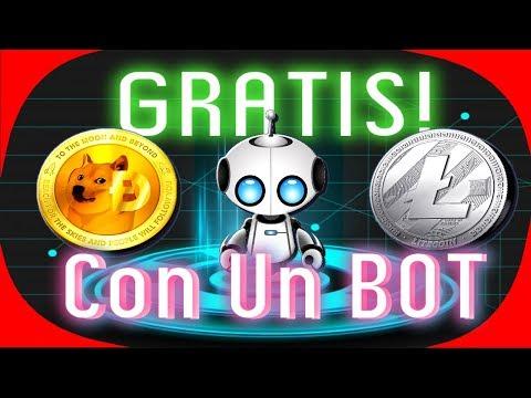 🔴 Gana Dogecoin y Litecoin Con Un BOT GRATIS! Sin Referidos Sin Invertir [ Tengo Dinero ]