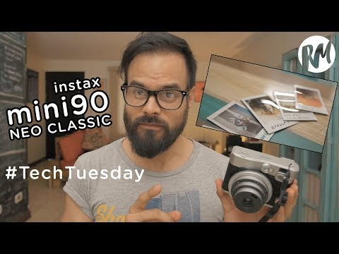 ¡FIEBRE DE FOTOS INSTANTÁNEAS! Instax Mini90 Neo Classic — TechTuesday