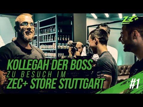 Kollegah der Boss zu Besuch im Zec+ Store Stuttgart