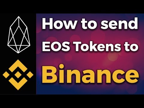 How to send EOS to Binance and other Exchanges