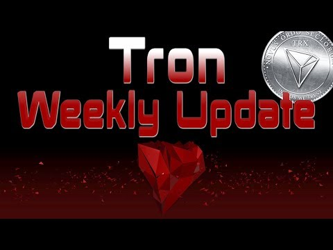 Tron TRX Weekly News Update | Crypto News