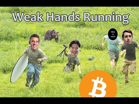 Weak Hands Running – Daily Bitcoin and Cryptocurrency News 8/15/2018