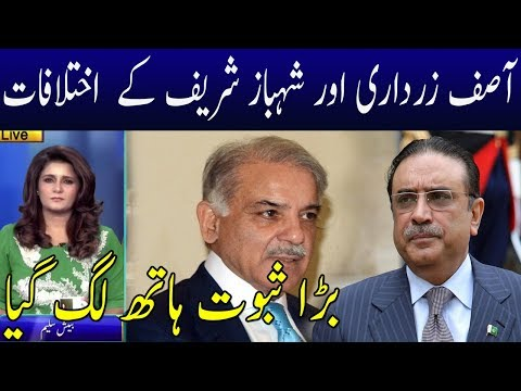 Shahbaz Sharif And Asif Zardari Differences Fully Exposed | Neo News