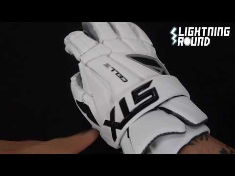 Lightning Round for the STX Cell IV Lacrosse Gloves