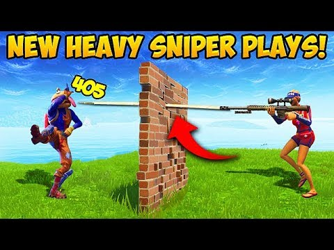 *NEW* HEAVY SNIPER IS BROKEN! – Fortnite Funny Fails and WTF Moments! #290