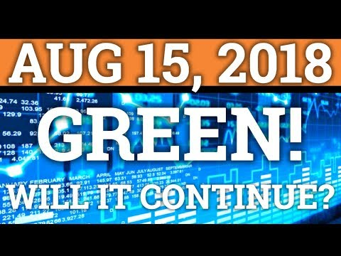 CRYPTOCURRENCY IN THE GREEN! WILL IT CONTINUE? BITCOIN BTC, ONTOLOGY PRICE + NEWS 2018!
