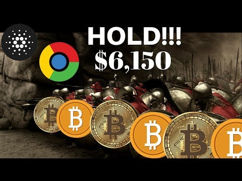 BTC Needs to Hold $6150! Cardano ADA Moving into Chrome? Cya Toshi Hello Coinbase! ZEN Giveaway! +++