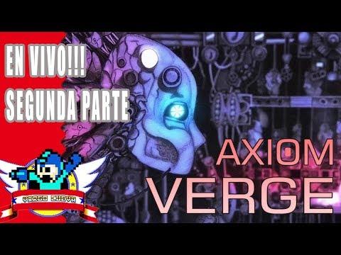 Directo jugando Axiom Verge | Virgo Cueva