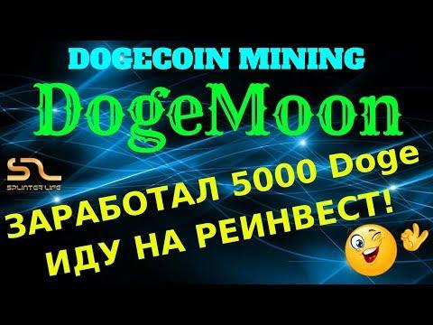 ЗАРАБОТАЛ 5000 Doge на #DogeMoon ИДУ НА РЕИНВЕСТ