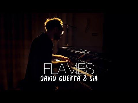 FLAMES – David Guetta & Sia (Piano Cover) | Costantino Carrara