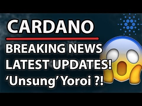 Cardano (ADA) Must Watch! Latest News Explained! (Yoroi, Icarus, Valuation Of Cardano)