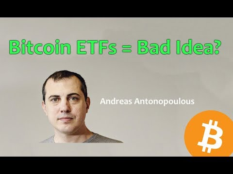Bitcoin ETFs = Bad Idea? – Daily Bitcoin and Cryptocurrency News 8/16/2018