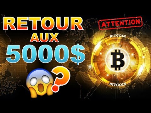 BITCOIN 5000$ LE RETOUR ??? BTC analyse technique crypto monnaie