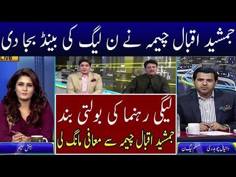 Jamshed Iqbal Cheema Bashing PMLN Leadership   Neo News