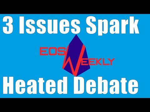 3 Issues Spark Heated Debate | Featuring EOS New York's Snapshot Tool