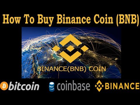 How to buy BNB Binance Coin with Coinbase(GDAX)