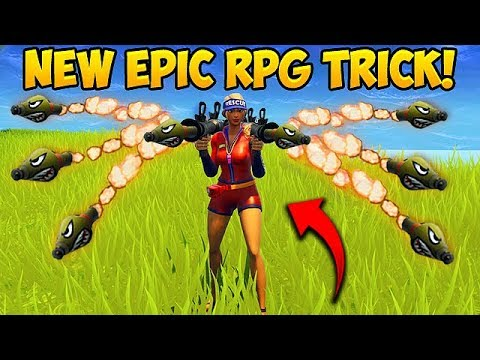 NEW CRAZY RPG TRICK! – Fortnite Funny Fails and WTF Moments! #291