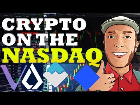 NASDAQ To List Cryptocurrencies?! ? Waves Blockchain Voting, Lisk, VeChain $WAVES $WCT $LSK $VET