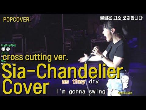 Sia-Chandelier COVER BY. Kkangna Cross Cutting Ver. 샹들리에 교차편집!!