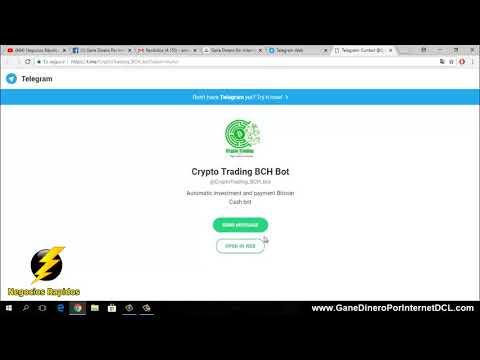 Doge Click Bot Gana Muchos Dogecoins Gratis con Telegram