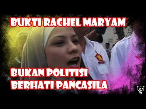 Ini Buktinya Rachel Maryam  Politisi Tidak Berhati Pancasila! Gak Ada Bedanya Dengan Emak-Emak Demo