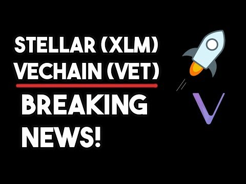 Vechain (VET) What's Going On? & XLM Moon In Early September?!