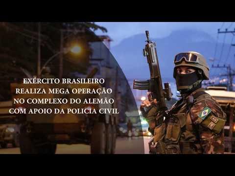 Exército faz mega operação no Complexo do Ameação – BCN News