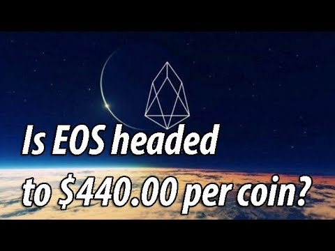 Is EOS headed to $440.00 per coin?