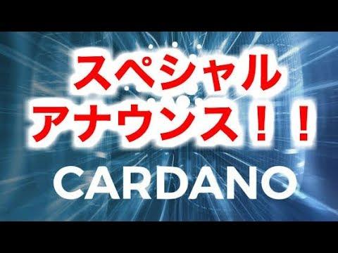 【仮想通貨】ADAスペシャルプランとは?!ADAの今後!!