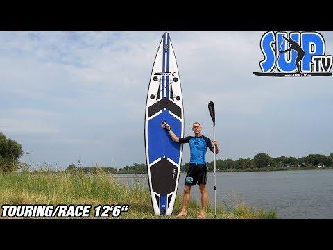 STX Race 12'6″ wide (2018): Vorstellung des Race/Touring-iSUP // Daten & Fakten