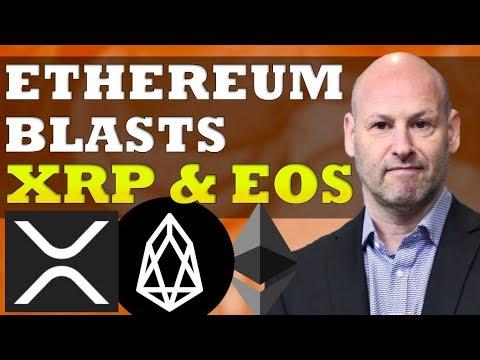 XRP, EOS Slammed By Ethereum Co-Founder, Bitcoin Price Volatility & ETF $BTC $EOS $XRP $ETH